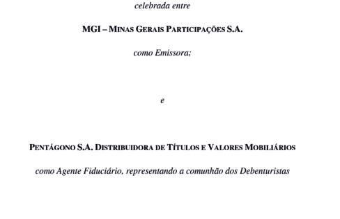 Escritura 6a. Emissão de Debêntures MGi S/A