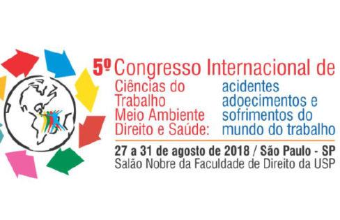 Carta 2018 do 5º Congresso Internacional de Ciências do Trabalho, Meio Ambiente, Direito e Saúde