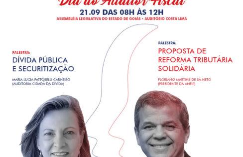 """Palestra: """"Dívida pública e securitização"""" – M.L. Fattorelli – Sindifisco Goiás"""
