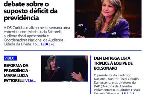 Sindifisco Curitiba entrevista Maria Lucia Fattorelli sobre a farsa do déficit da previdência