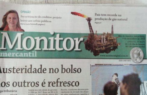 """Artigo """"PLP 459: inconstitucional e lesivo aos cofres públicos"""", por Maria Lucia Fattorelli para o Monitor Mercantil"""