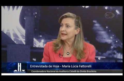 Fattorelli explica PLP 459/2017 ao programa Direto de Brasília