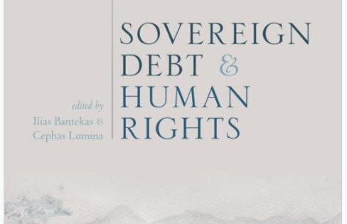 Publicado pela Oxford University, artigo da Auditoria Cidadã compõe livro sobre a dívida e os direitos humanos
