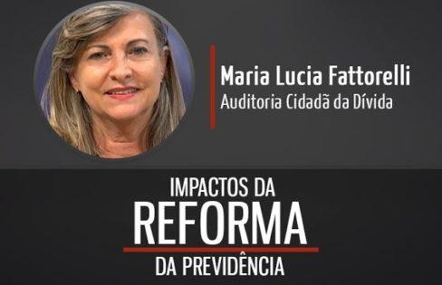 "TV Assembleia – Maria Lucia Fattorelli: ""reforma da Previdência proposta por Bolsonaro"""