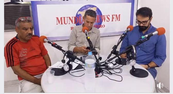 Coordenador do núcleo Rio de Janeiro fala sobre Reforma da Previdência em programa de rádio