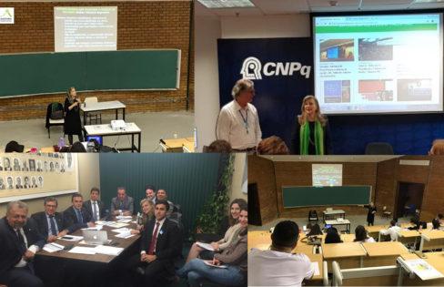 Entre reuniões e palestras, coordenadora da ACD e equipe debatem reforma da previdência, dívida pública e reforma tributária