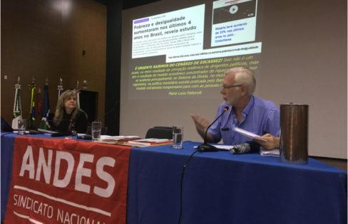 Seminário do ANDES-SN debate Orçamento e Educação