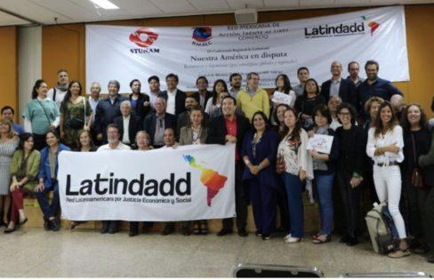 Auditoria Cidadã participa da III Conferência Regional da Latindadd Rede Latinoamericana por Justiça Econômica e Social no México