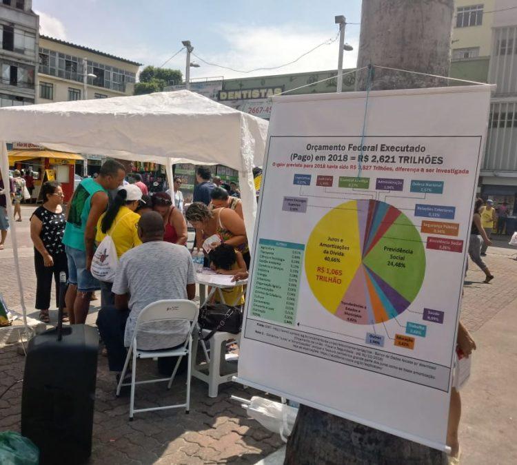Núcleo Rio de Janeiro: Auditoria Cidadã participa de aula pública promovida pelo Fórum contra a Reforma da Previdência