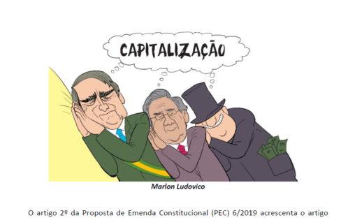 """Artigo: """"Sua aposentadoria nas nuvens e eles felizes na terra! – CONTAS NOCIONAIS – O que o Paulo Guedes esconde?"""""""