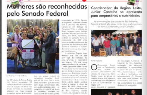 """Jornal Daqui DF: """"Mulheres são reconhecidas pelo Senado Federal"""""""