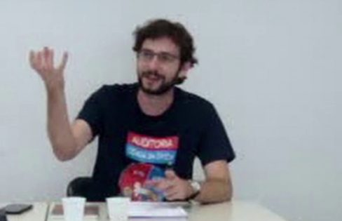 Economista do Dieese participa de vídeo aula do curso de formação do núcleo catarinense