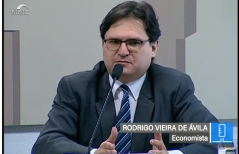 "Palestra: ""A dívida pública e a previdência social"", Rodrigo Ávila – Audiência na CDH do Senado"