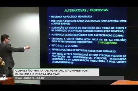 """Palestra: """"O PLN 4/2019 – CN e a Regra de Ouro"""", Rodrigo Ávila – Comissão Mista de Orçamento – Brasília/DF"""