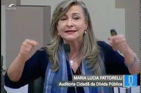 Vídeo: Fattorelli debate Reforma da Previdência com foco na auditoria da Dívida Pública.