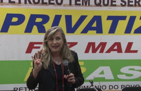 Vídeo com palestra da coordenadora Maria Lucia Fattorelli no Sindipetro/RJ