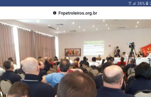 Auditoria Cidadã da Dívida participa de Congresso da Federação Nacional dos Petroleiros