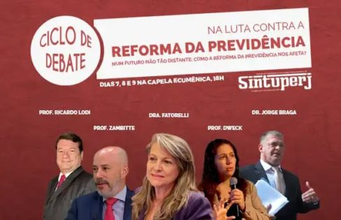 "Palestra: ""Reforma da Previdência e o Sistema da Dívida"", M.L.Fattorelli, Sintuperj e UERJ"