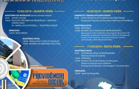 """Palestra: """"Reforma da Previdência: desafios e perspectivas"""", M.L.Fattorelli – Fenale"""