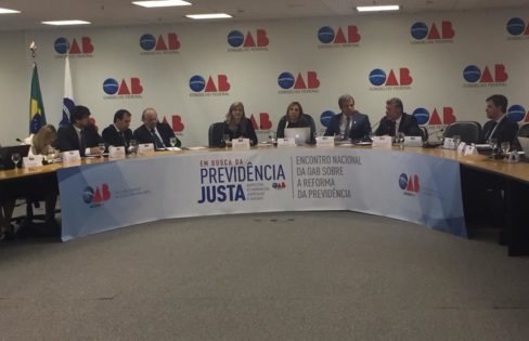 """Palestra: """"Auditoria da Dívida – Conjuntura Nacional e Reforma da Previdência"""", M. L. Fattorelli – Encontro Nacional da OAB sobre a Reforma da Previdência – Brasília"""