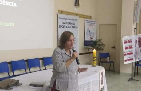 Núcleo São Paulo realiza palestra em evento da Campanha da Fraternidade