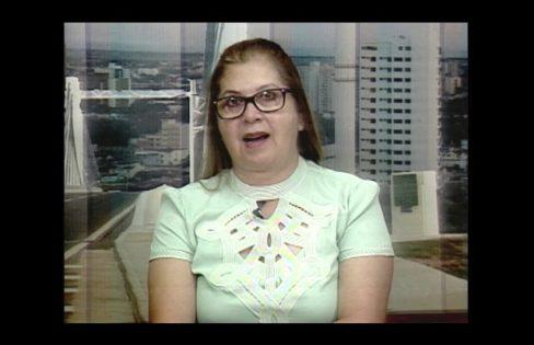 Professora Marluce Souza fala sobre atividades do núcleo e o III Seminário Estadual sobre a Dívida Pública e a Previdência Social