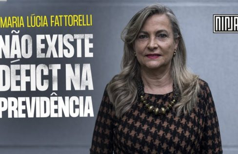 """Mídia Ninja: """"Não existe déficit da previdência"""", com Maria Lúcia Fattorelli"""