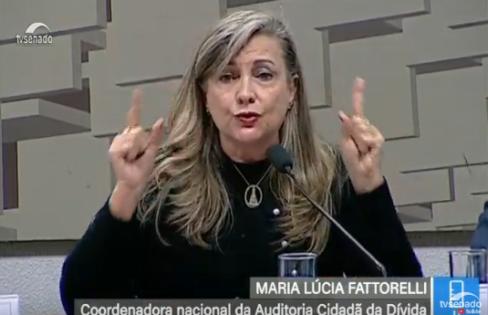 """Fattorelli: """"Como o Banco Central produziu a crise?"""""""