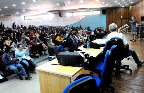 """Palestra: """"Reforma da Previdência"""", M. L. Fattorelli – 71ª Reunião da Sociedade Brasileira pelo Progresso da Ciência (SBPC) – Campo Grande/MS"""