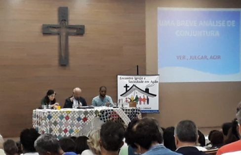 """Núcleo Capixaba participa do Encontro """"Igreja e Sociedade em Ação"""""""