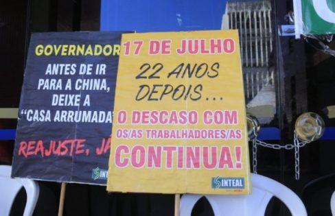 Núcleo Alagoano protesta contra renúncias fiscais que comprometem as finanças do estado