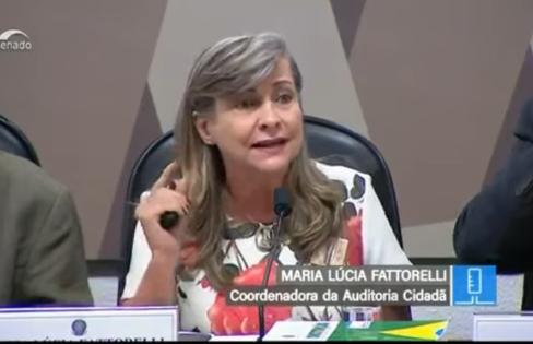 Fattorelli fala sobre as inconstitucionalidades e inconsistências da Reforma da Previdência