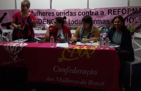 """Palestra: """"A dívida pública impede o aumento dos recursos da saúde"""", Cristina Araújo – 16ª Conferência Nacional da Saúde – Brasília/DF"""