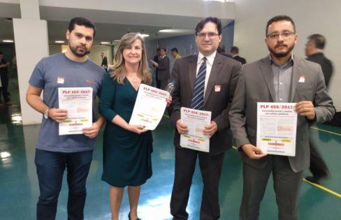 Auditoria Cidadã faz mobilização na Câmara contra o PLP 459/2017