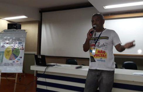 """Palestra: """"Análise de Conjuntura e Prejuízos da Reforma da Previdência"""", Paulo Lindesay – Conselho Municipal de Saúde de Niterói/RJ"""