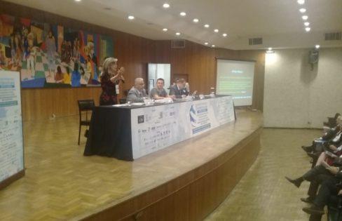 Fattorelli discursa no I Congresso Internacional Interdisciplinar: Direito e Economia, na UFMG