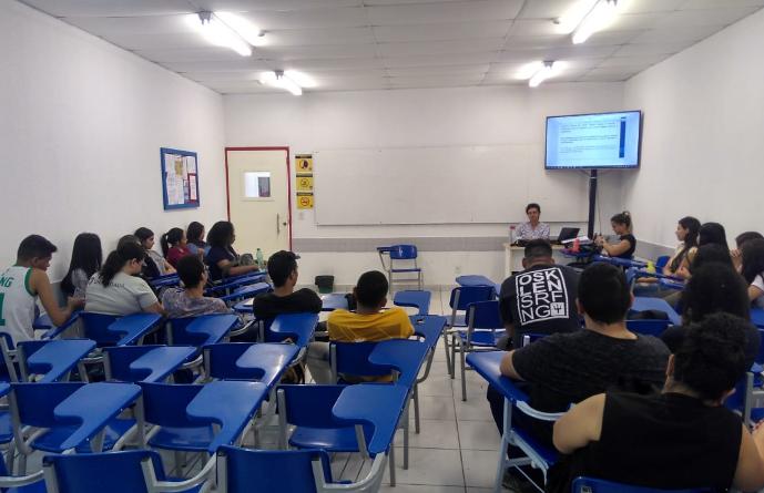 Núcleo Baiano realiza atividade com estudantes universitários de Petrolina/PE