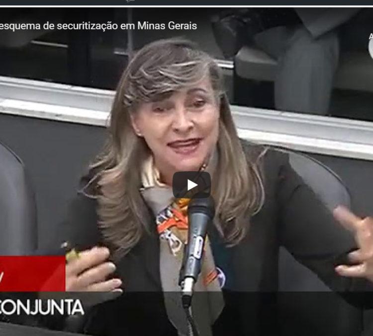 Fattorelli denuncia esquema de securitização em Minas Gerais