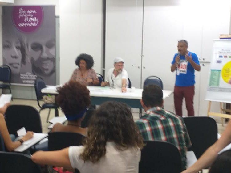 Representantes do núcleo Rio de Janeiro participam de atividades e mobilizações na cidade