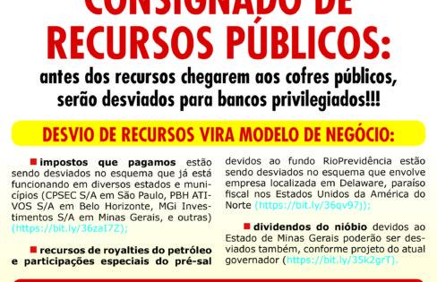 Folheto: Consignado de recursos públicos (securitização)