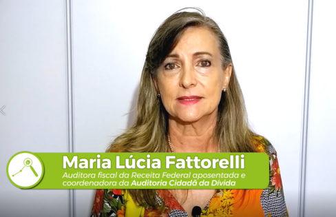 Fattorelli fala da importância do conhecimento e da mobilização social