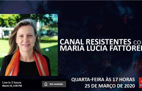 Canal Resistentes: Maria Lucia Fattorelli, discutindo a dívida pública e a pandemia.