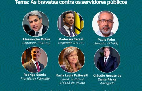 Fattorelli fala sobre os ataques do governo aos servidores e os privilégios ao mercado financeiro
