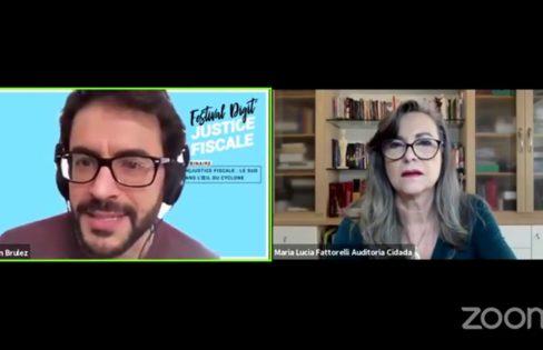 Festival Justice Fiscale: Fattorelli fala sobre sistema da dívida e justiça fiscal