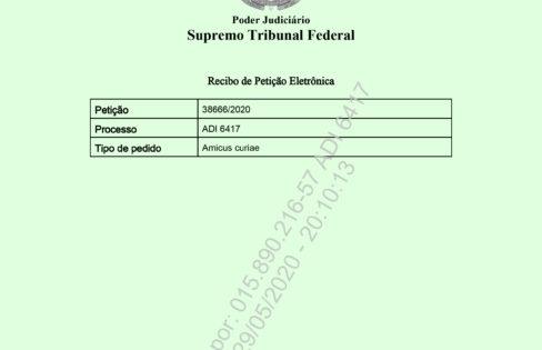 """Auditoria Cidadã da Dívida entra com pedido de ingresso como """"amicus curiae"""" (amigos da corte)"""