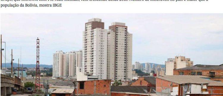 """""""Desigualdade Social, ausência de Democracia e Ditadura do Capital"""" – por Maria Lucia Fattorelli"""