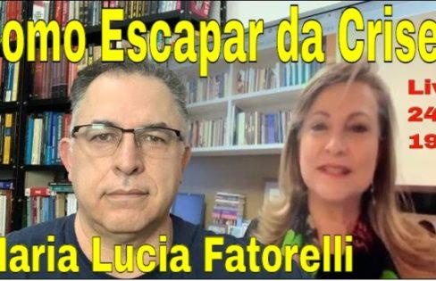 LIVE: Maria Lucia Fatorelli. Dívida do Brasil e Guedes. Como superar
