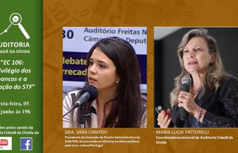 """LIVE: """"EC 106: privilégio dos bancos e a atuação do STF"""" – Completa"""