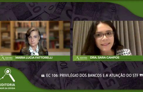 Advogada explica ADI contra a EC 106, que trata da compra de papéis podres pelo Banco Central