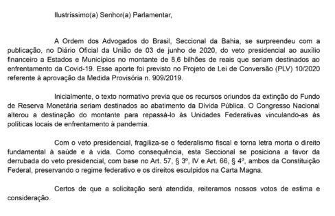 Para privilegiar o pagamento da dívida pública, governo veta destinação de R$ 8,6 bilhões para combater a Pandemia